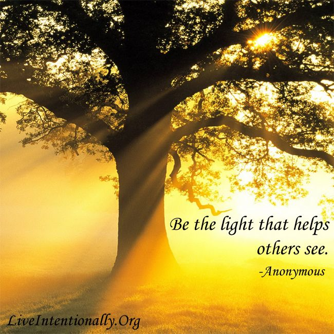 Inspirational Quote Be The Light That Helps Others See Unknown Nature Diy Master Pictures