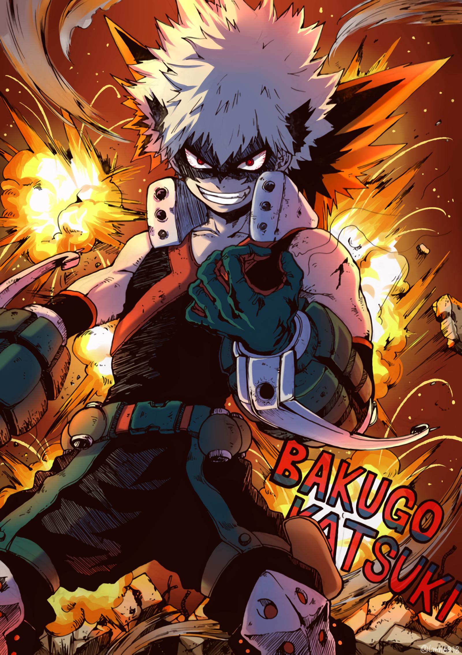 Image by Chris Owens on Bakugo Hero academia characters