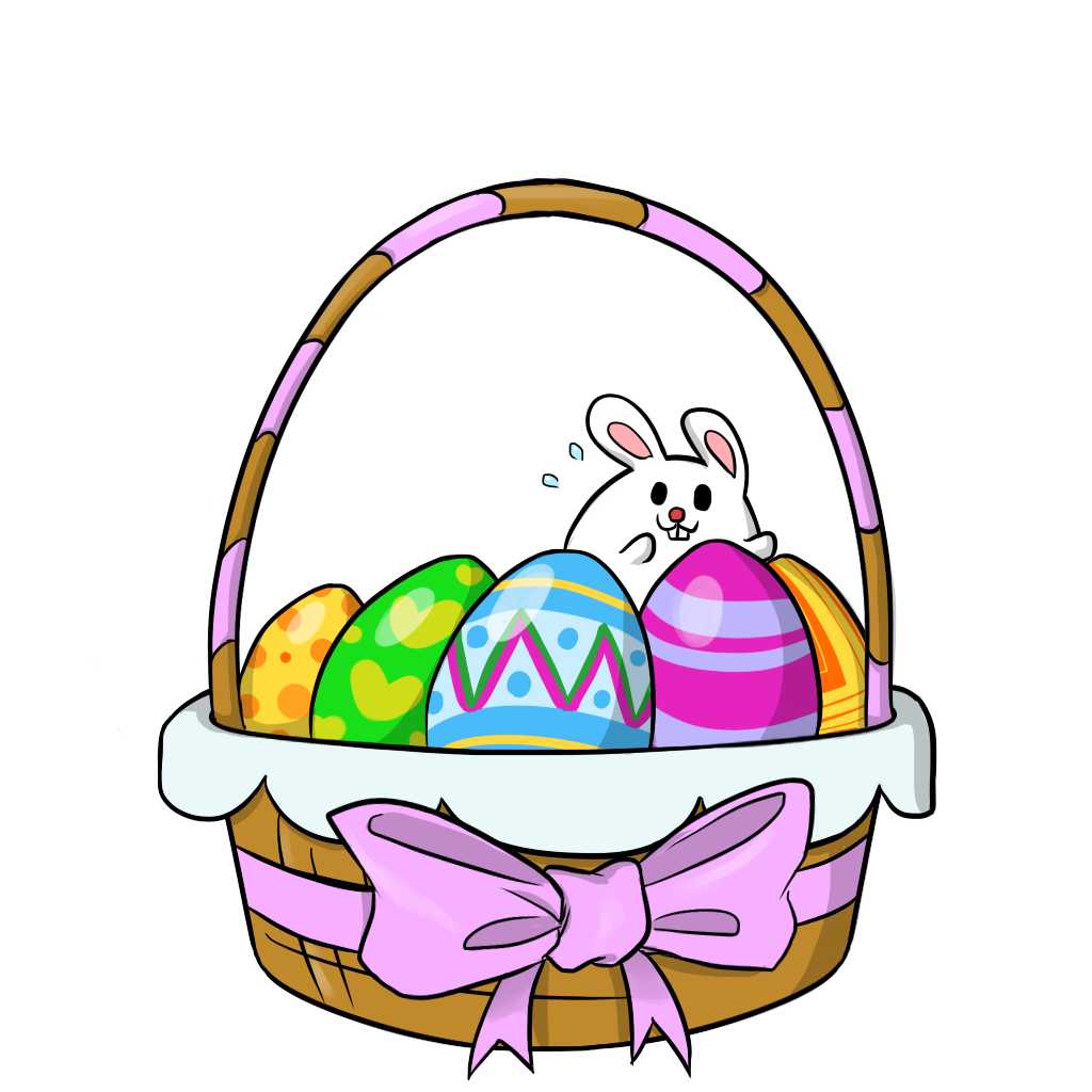 easter clipart free easter basket 2 clip art easter pinterest rh pinterest ca free easter clipart of cross free easter clipart religious