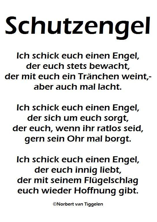 Schutzengel Hoffnung Van Tiggelen Gedichte Menschen