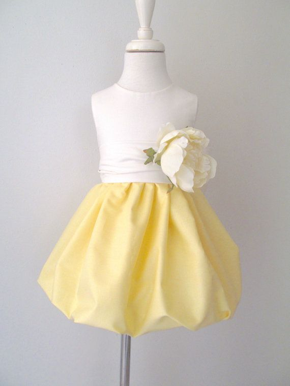 Light yellow flower girl dress with pretty by pleasantlypeasant light yellow flower girl dress with pretty by pleasantlypeasant 8900 mightylinksfo