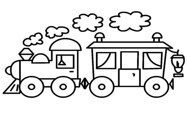 Mewarnai Gambar Kereta Api Untuk Anak Tk Buku Mewarnai Halaman Mewarnai Warna