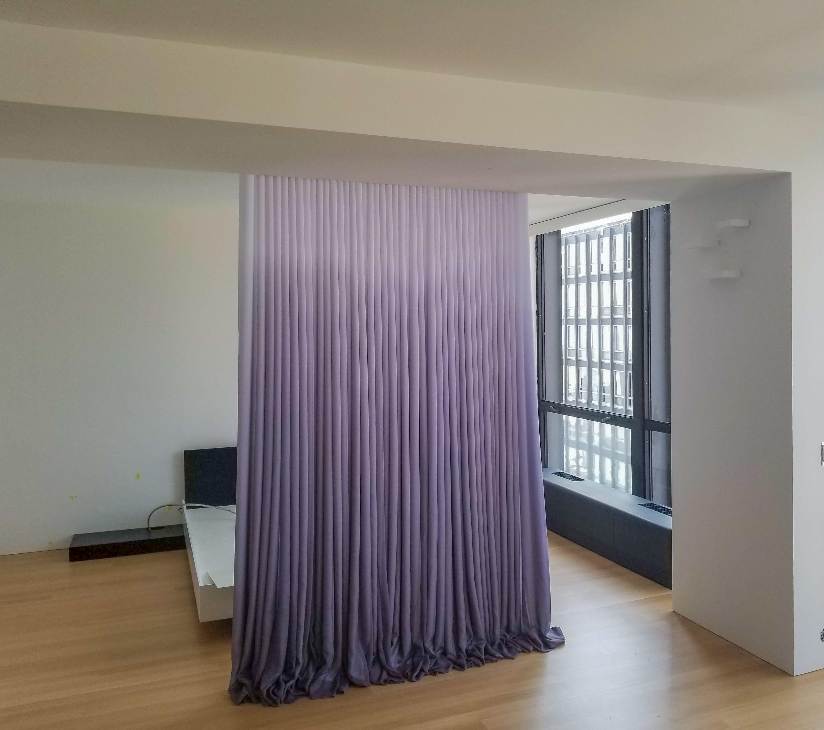Custom Printed Drapery In 2020 Purple Curtains Living