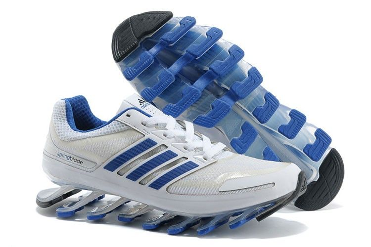 cheap for discount 82e32 829b5 ... germany adidas springblade drive hvid blå herre sko 44750 b04ee