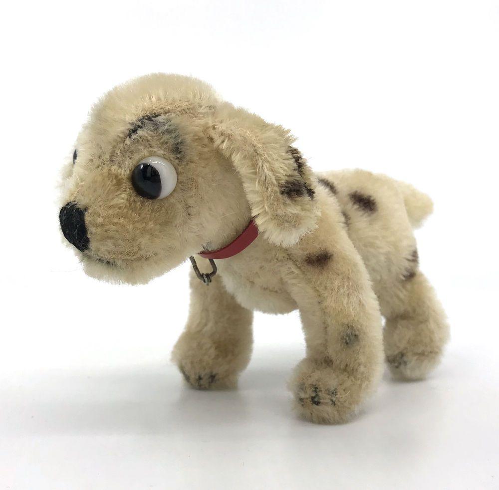 Steiff Rolly Dalmatian Wdp Disney Dog Mohair Plush 12cm 5in
