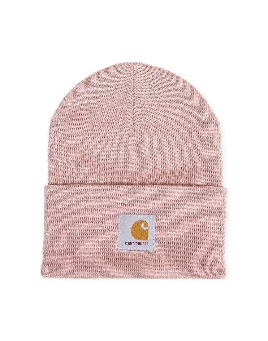 6a29c3d5beeae Carhartt WIP Acrylic Watch Hat Pink