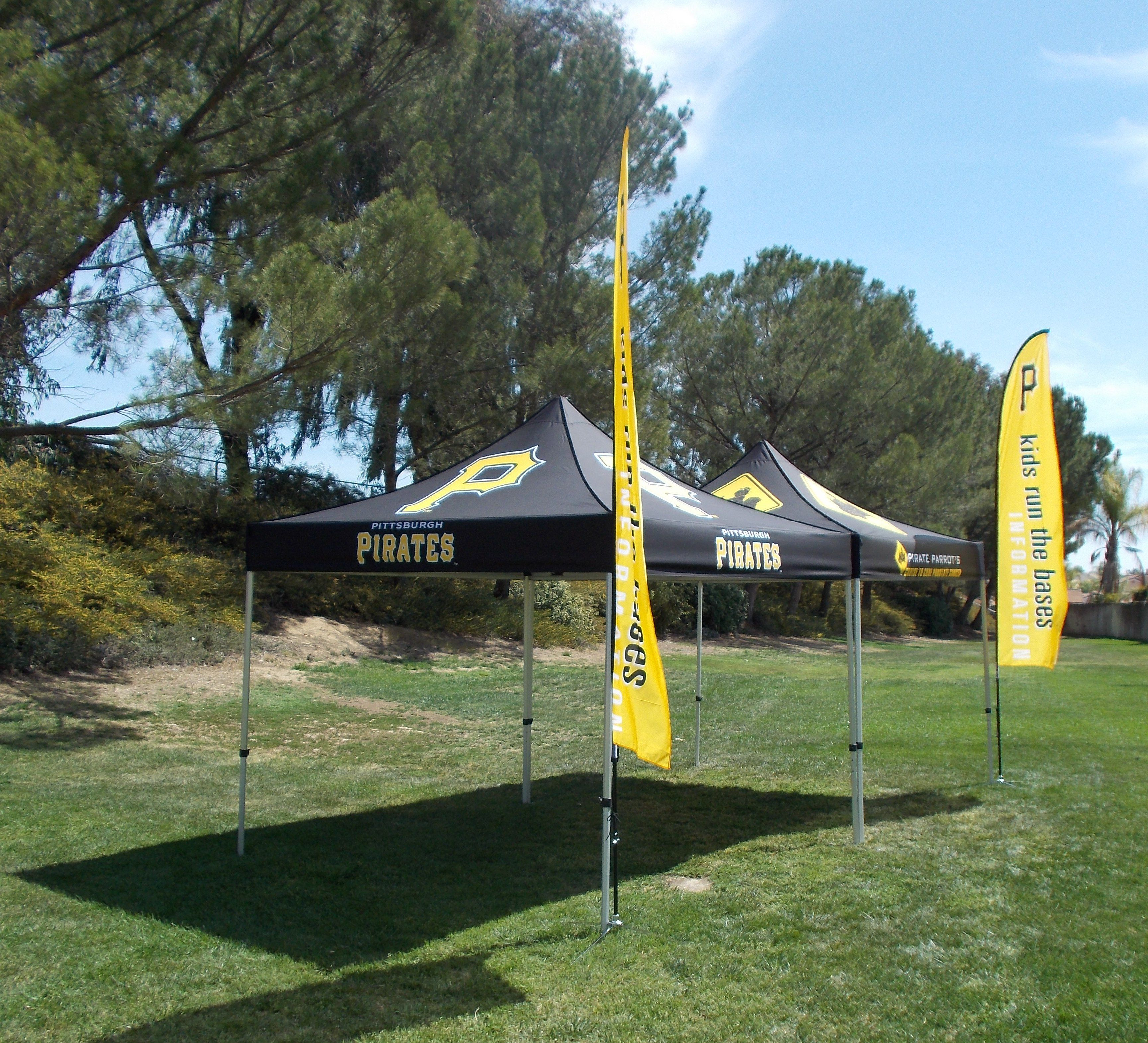 Proud supplier of Marketing Tents and Advertising Flags to