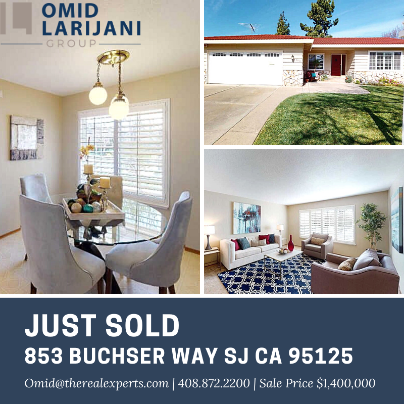 🏡  JUST SOLD! Thank You for your trust and business  #realtor #realestate #properties #santaclara #sanjose #sunnyvale #cupertino #losgatos #almaden #willowglen #campbell #saratoga #mountainview #paloalto #milpitas #fremont #redwoodcity #oakland #houses #homesweethome #southbay #multifamily #investor #investment #siliconvalley #siliconvalleyrealtor #siliconvalleyrealestate #siliconvalleyproperties #homesforsale#homeforsale #california#californialiving#californialife#californiadream#bayarea