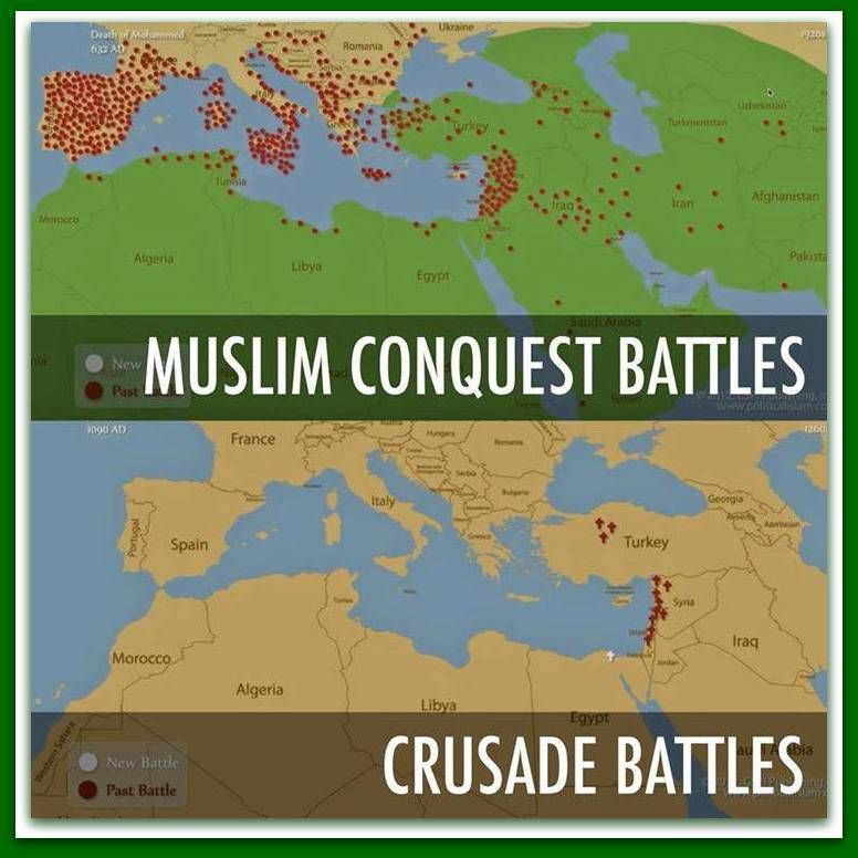 Jihad Vs. Crusades ➠ The Facts Are A BITCH! | We the People ...
