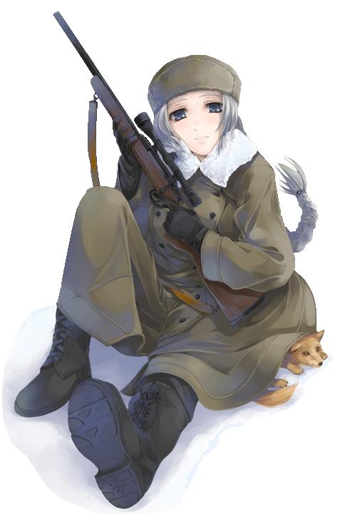 Sniper anime photo anime sniper military - Anime sniper girl ...