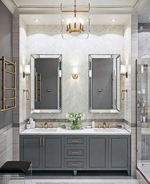 Top 50 Best Bathroom Lighting Ideas - Interior Lig