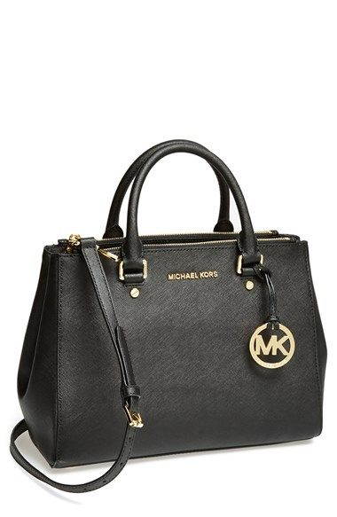 9c3e130d4891 MICHAEL Michael Kors 'Medium Sutton' Saffiano Leather Tote available at # Nordstrom. Also in SAPPHIRE.