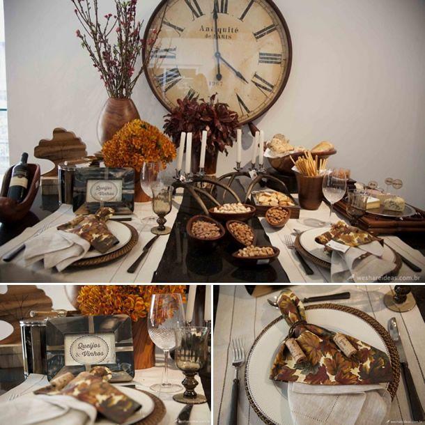 Enfeite De Outono ~ outono, decoraç u00e3o de mesas Pesquisa Google Editorais WSI Uma Mesa para Cada Estaç u00e3o do Ano