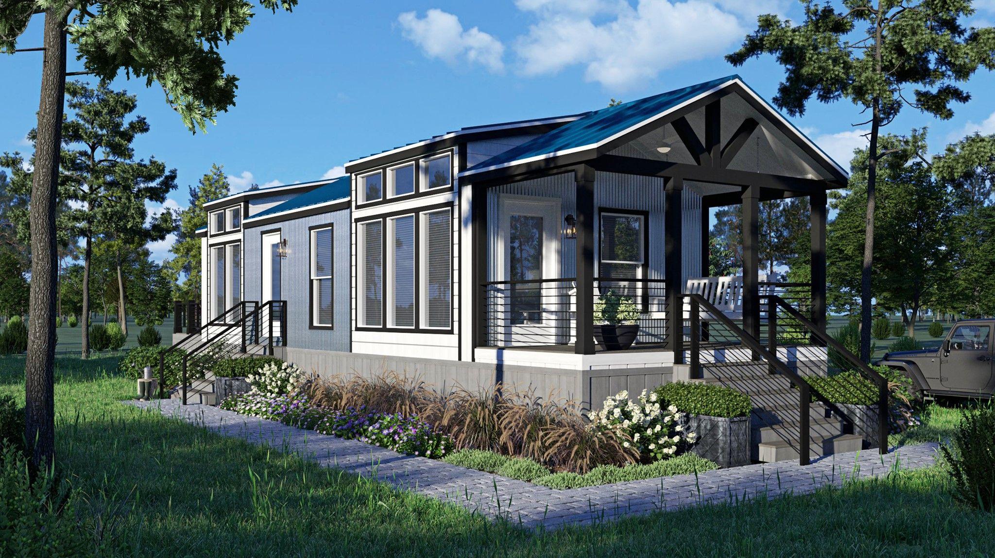 Live Smarter With A Smart Cottage Home Oak Creek Homes Cottage Homes Oak Creek Homes Modern Tiny House