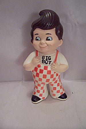 Big Boy Doll Bank 1968 Waitress At Kips Big Boy Restaurant Boy Doll Big Boy Restaurants Big Boy Toys