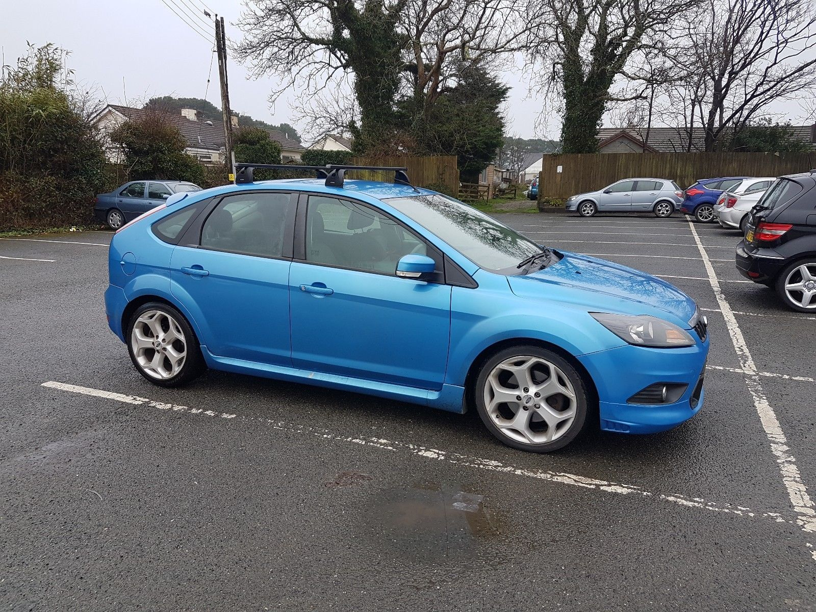 Check out this fast Ford. 2009 Ford Focus. Blue. St Wheels. | Fast ...