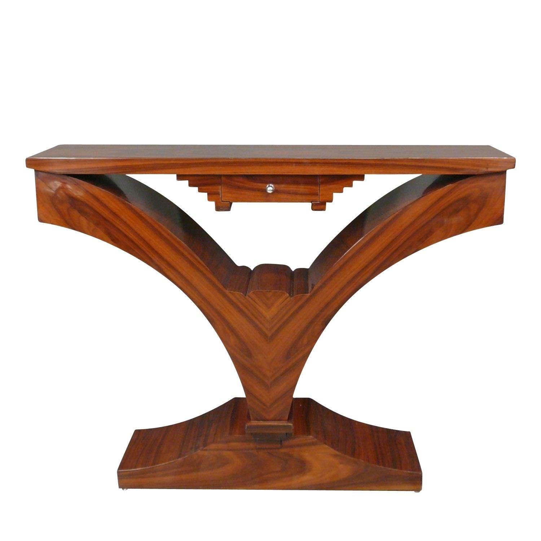 Console Art Deco En Palissandre Meubles Art Deco Art Deco Mobilier Art Deco