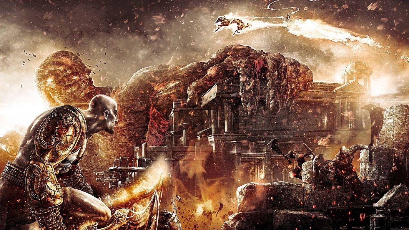 God Of War Iii God Of War War Image Ps Vita Wallpaper