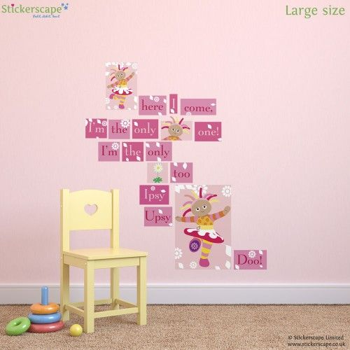 Our Official In The Night Garden Wall Sticker Range Includes Igglepiggle  And All Your Other Favourite Characters From The Hit CBeebies Show. Part 46
