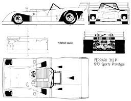Ferrari 312p blueprint racing car blueprint pinterest ferrari 312p blueprint malvernweather Choice Image