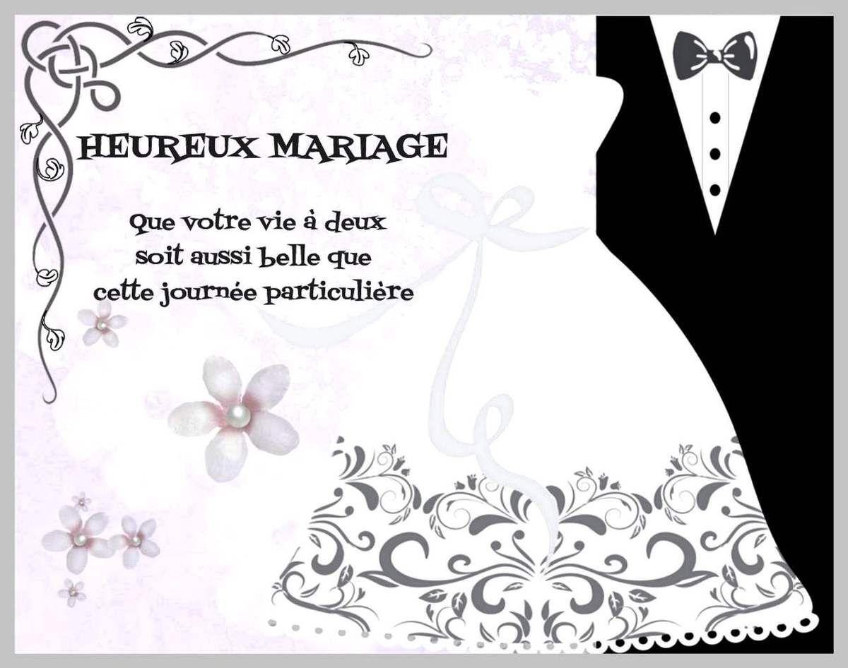 carte félicitation mariage a imprimer gratuite Cartes félicitations de mariage à imprimer   Félicitations mariage