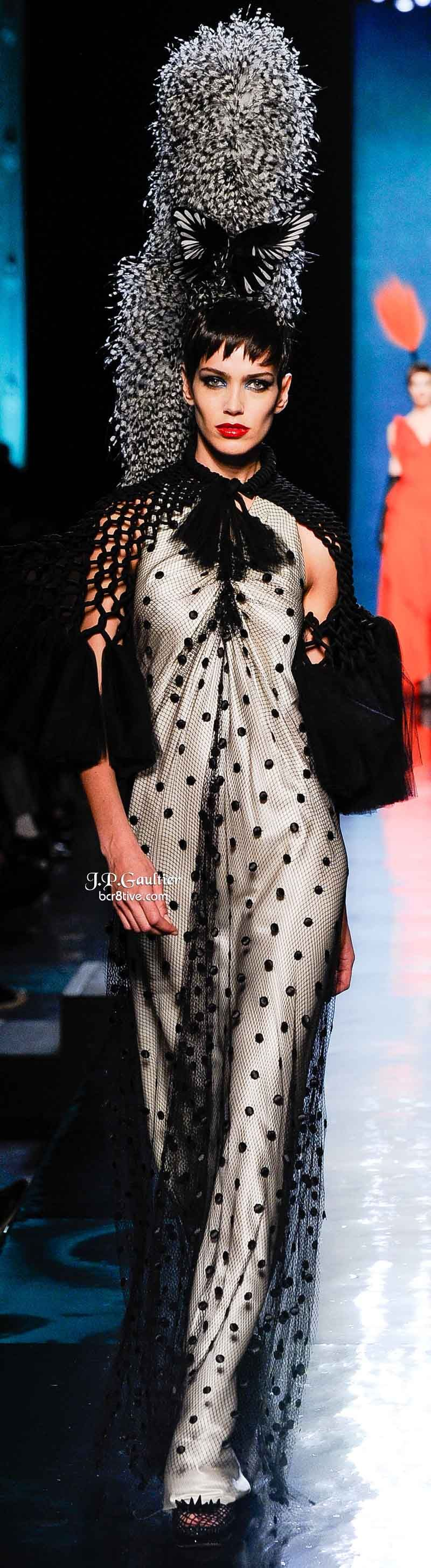 Jean Paul Gaultier Spring 2014 Couture Style couture