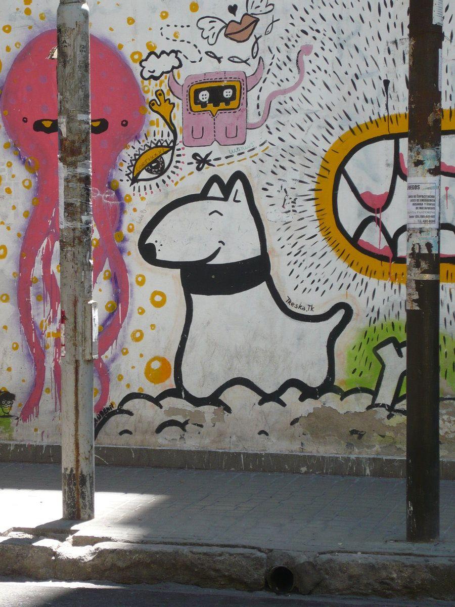Graffiti in the city of Cordoba, Argentina.