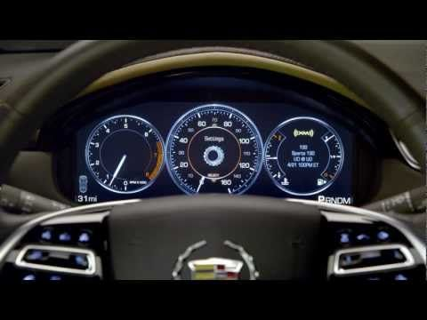 Lafontaine Cadillac Buick Gmc >> The 2013 Cadillac Xts Has Reconfigurable Gauges 2012 2013