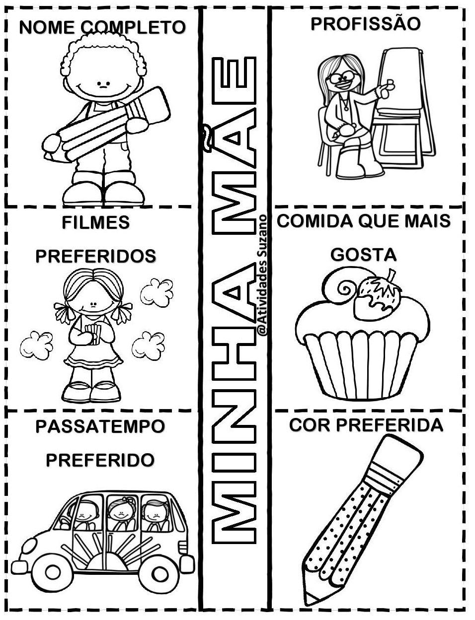 Pin De Claudia Noronha Em School Com Imagens Atividades