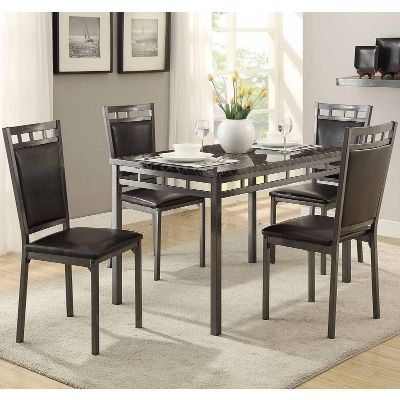 Olney 5 Piece Dining Set Home Kitchen Family Table