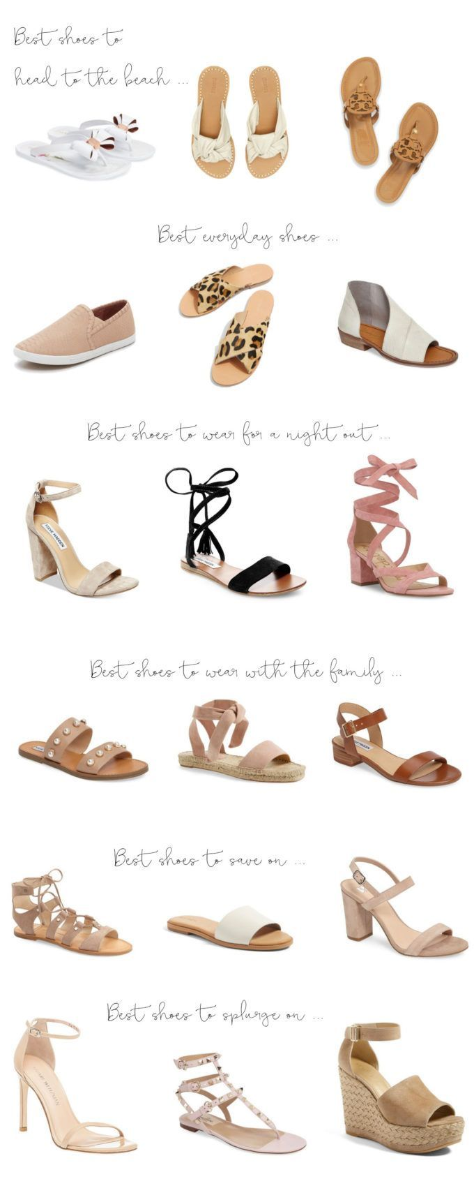 best shoes for the summer