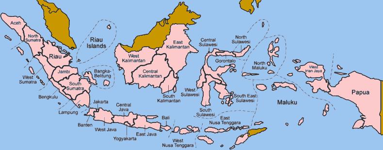 Negara Indonesia Definisi Atronomis Geologis Geografis Http Www Gurupendidikan Com Negara Indonesia Definisi Atronomis Peta Kepulauan Indonesia