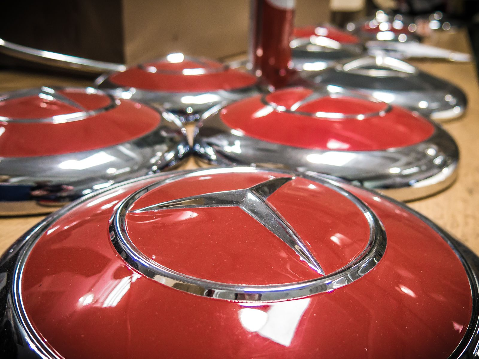 Hub Cap Central At The Classic Center Classic Mercedesbenz