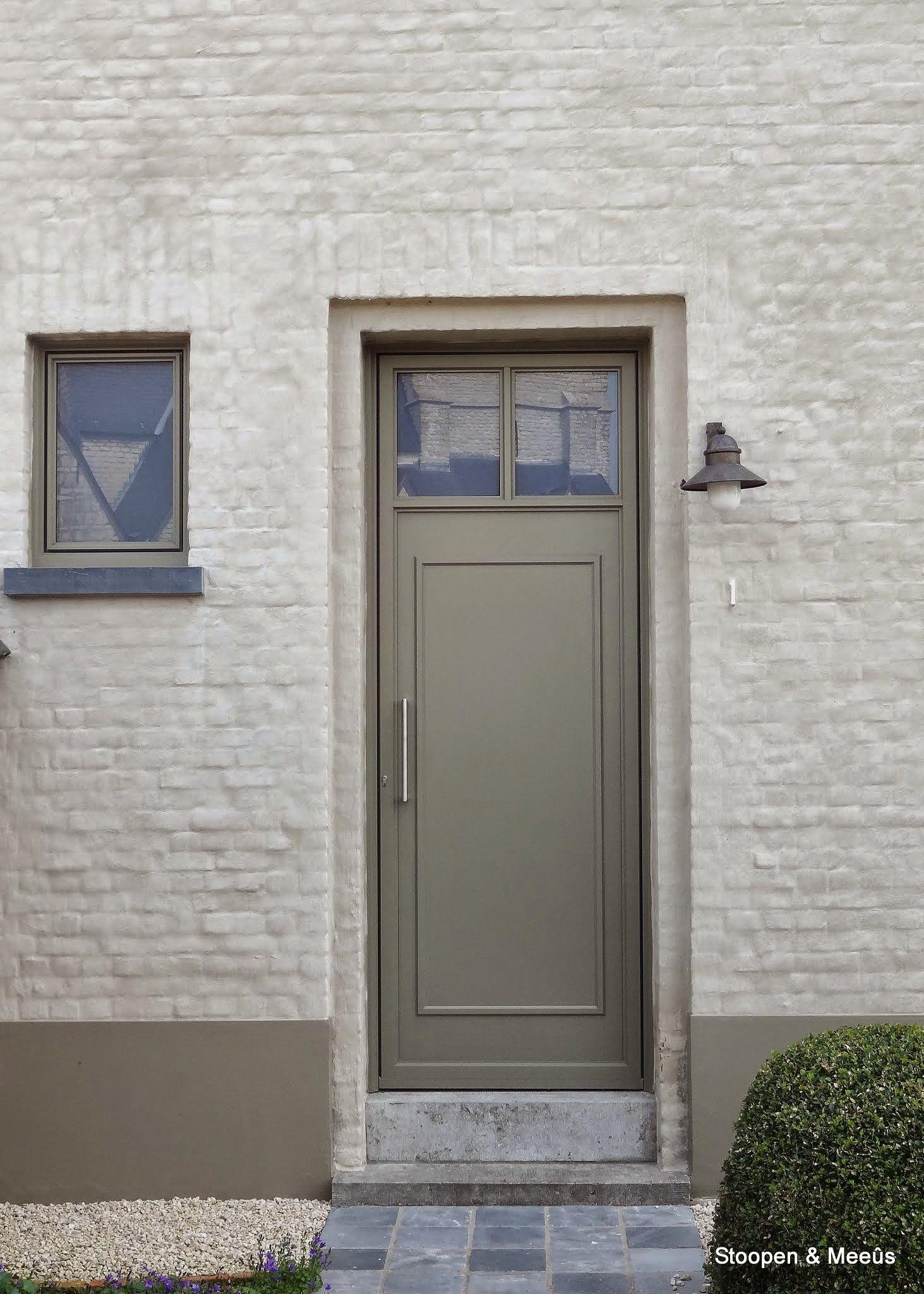 Betere Mortar and brick detail Love Kleur kalei | Buitenkant huis verven WF-97