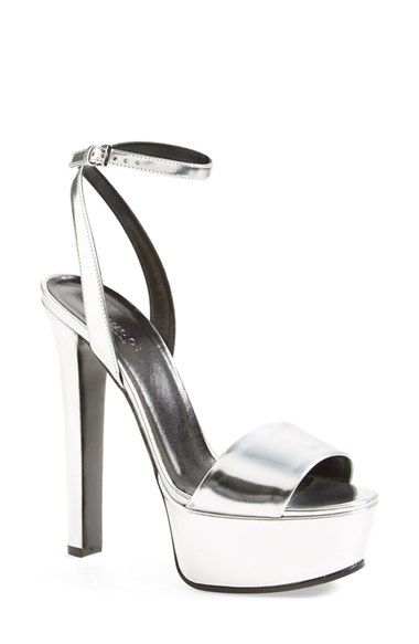 1ecace32cfb Gucci  Leila  Metallic Platform Sandal (Women) available at  Nordstrom