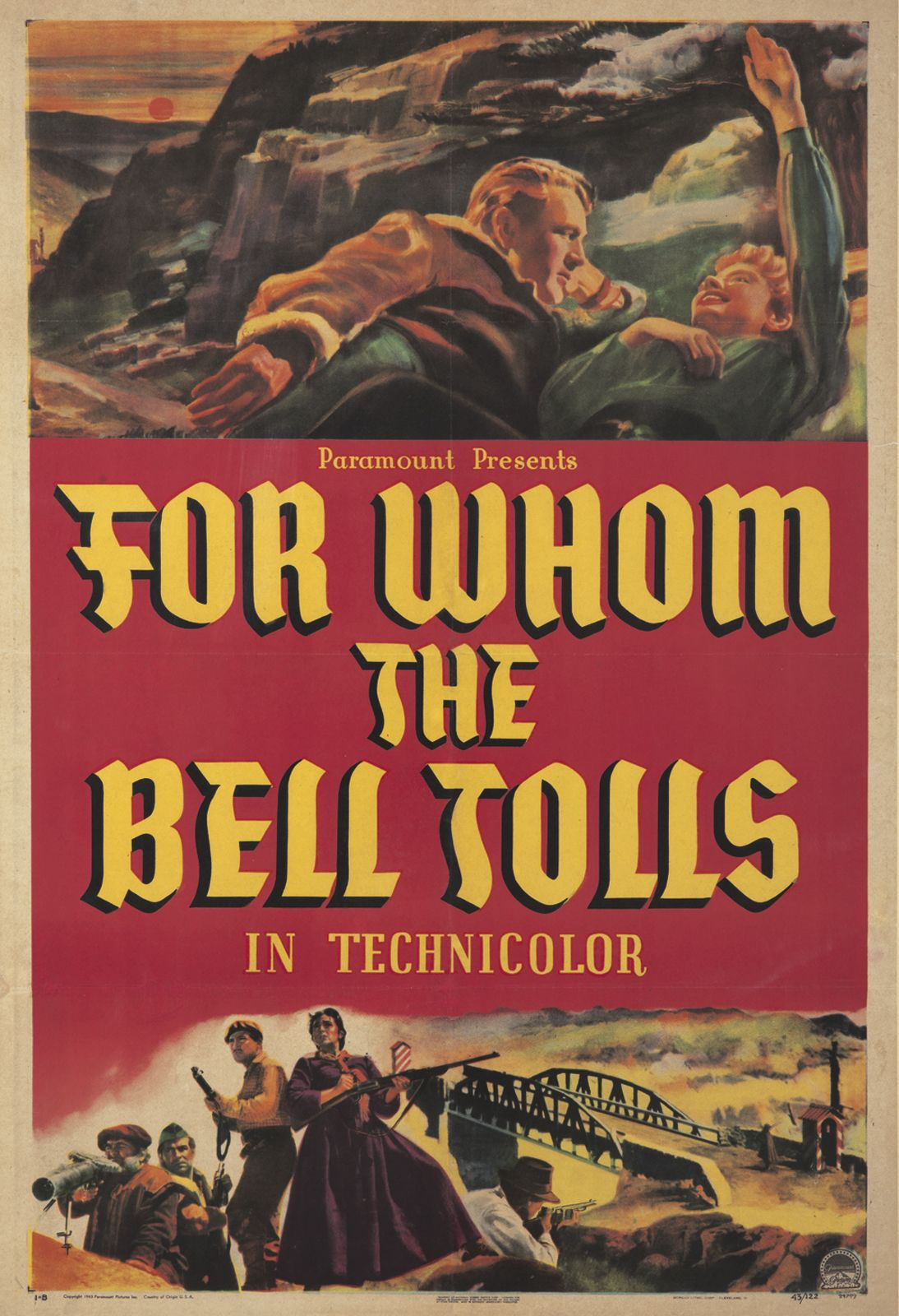 for whom the bell tolls 1943 imdb