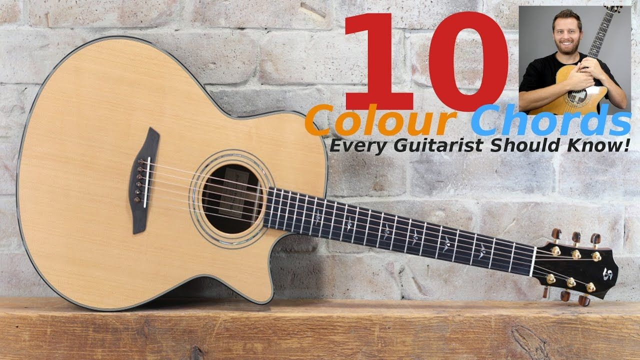 10 color chords every guitarist should know