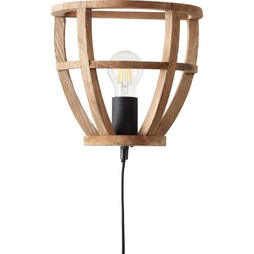 Industrialny Kinkiet Drewniany Z Wlacznikiem Matrix Postarzane Drewno Czarny Korund Brilliant Do Sypialni I Salonu Lamp Ceiling Lights Pendant Light