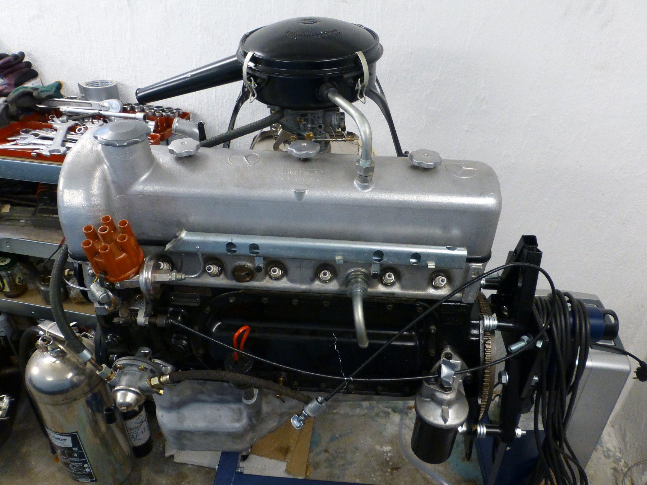 Mercedes-Benz 219 restoration > Carburetor | GERMAN AUTOS, CLASSICS