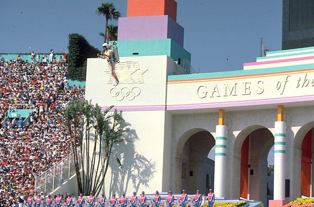 The Most aesthetic Olympics Ever La 1984 In 2020 1984 Olympics Olympics Opening Ceremony 1984 Summer Olympics