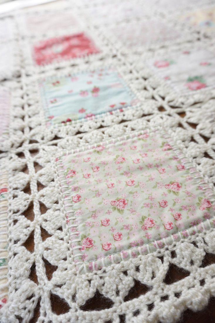 High Tea crochet quilt: http://quiltingintherain.com/2016/03/high ...