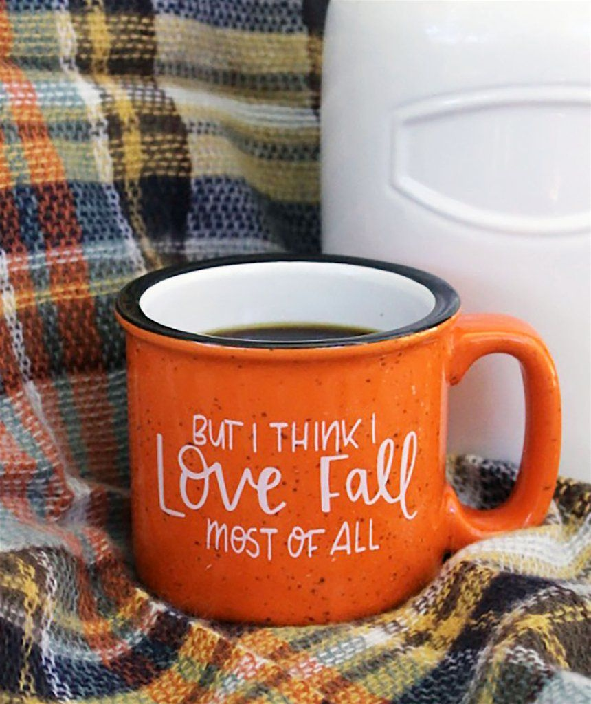 Coffee cup you can smoke out of - Fall Most Of All Mug 15oz Campfire Mug Darling Savage Designs