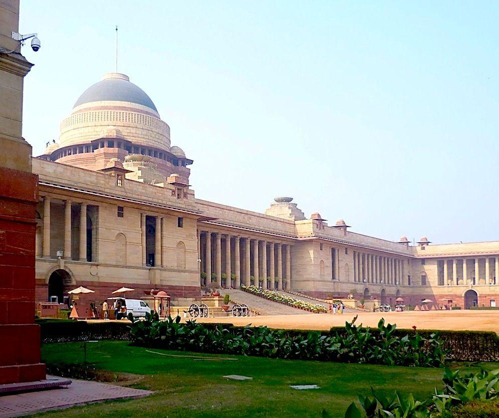 N85 Residence In New Delhi India: Viceroy's House, Now Rashtrapati Bhavan (Hindi For