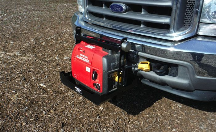 Two Convenient Ways To Mount A Generator When Camping Camper