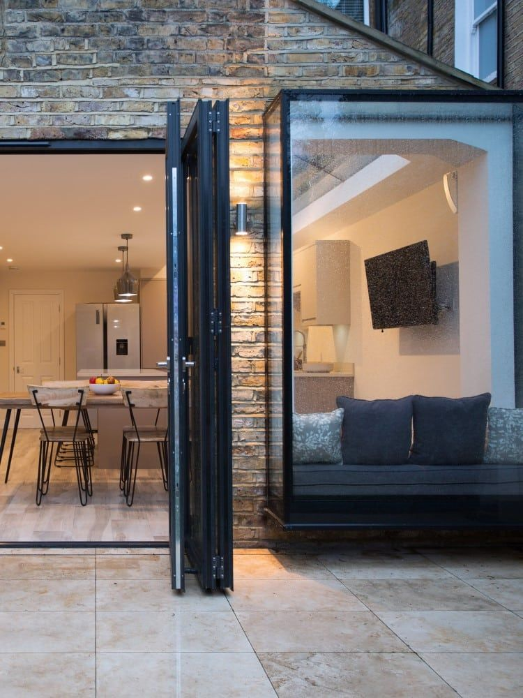 When designing a side return extension, the provision of natural light is an important consideration. On this project we installed a glass roof, which is an excellent way of maximising ... Read More #homeextensions