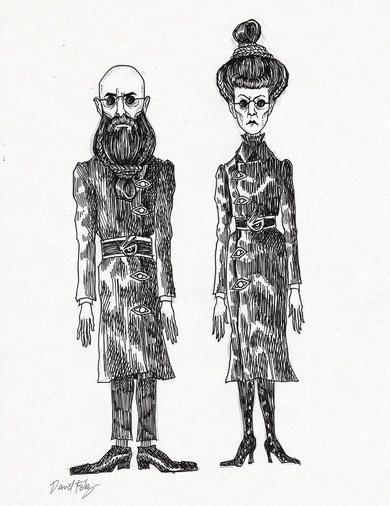 The Man With Beard But No Hair And The Woman With Hair But No