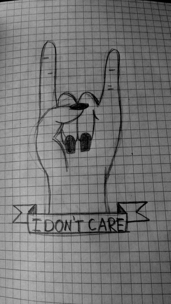#I #don't #care #deep