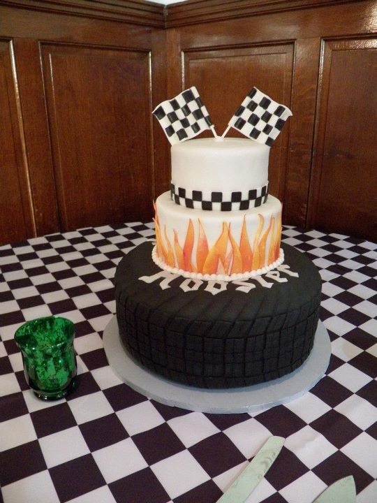 Marvelous Pin On Racing Cakes Funny Birthday Cards Online Unhofree Goldxyz