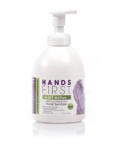 Hands First Alcohol Free Foam Hand Sanitizer 20 Oz Foamer By