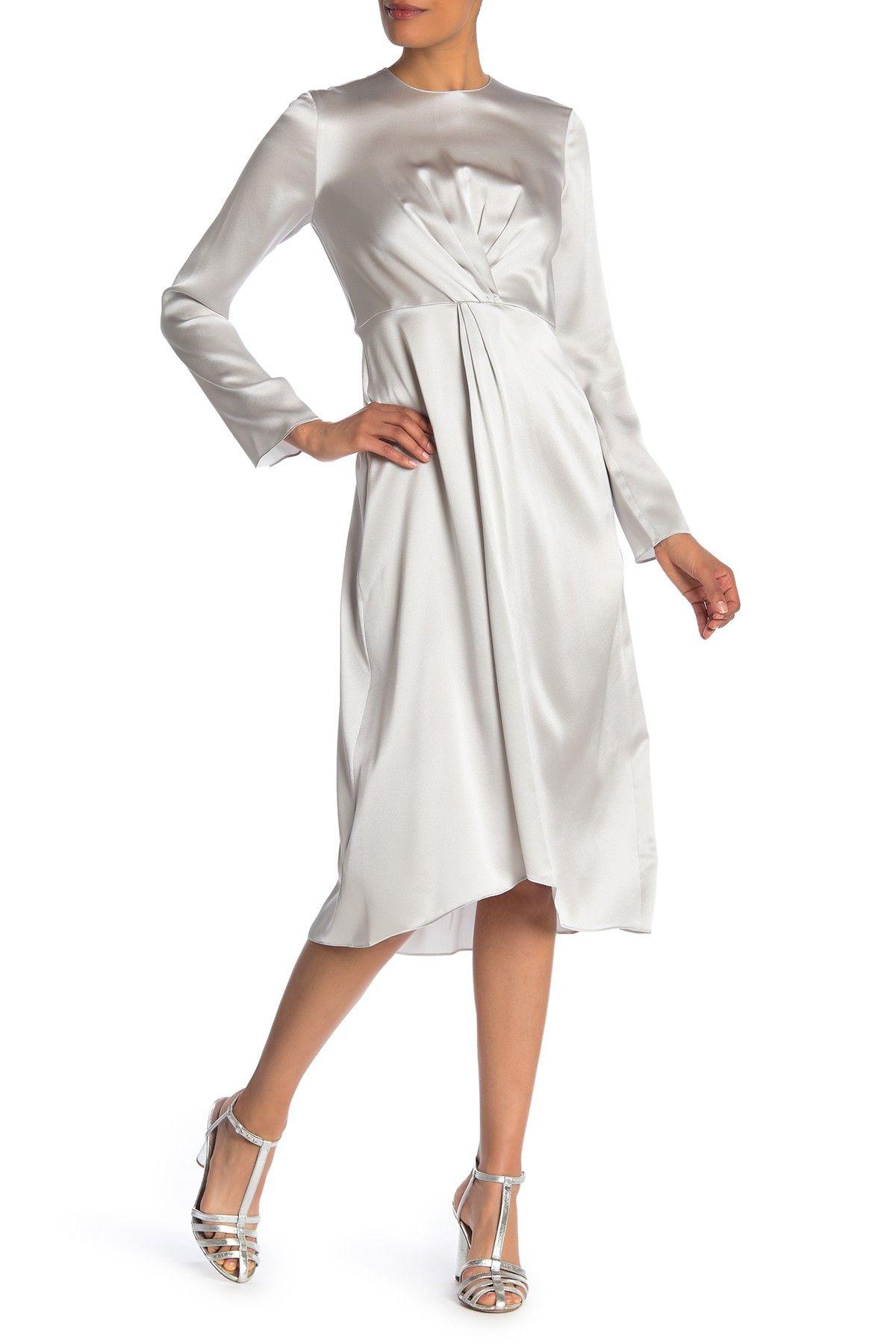 Vince Twist Front Silk Dress Nordstrom Rack Silk Dress Nordstrom Dresses Dresses [ 1800 x 1200 Pixel ]